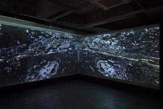W, installation view