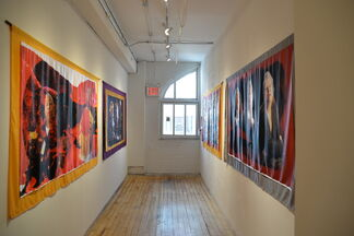 The Fire Inside: Quimetta Perle On the Wall, installation view