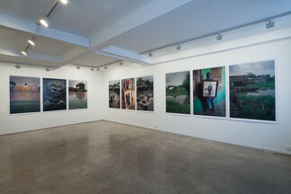 Leonce Raphael Agbodjelou, Code Noir, installation view