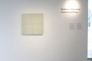 Meditative Minimalism: Confusion and Order, installation view