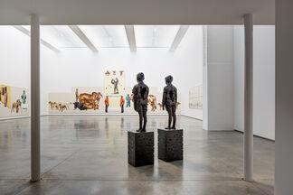 Meleko Mokgosi and Status Quo, installation view