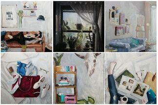 James Zamora: #interiors from @instagram, installation view