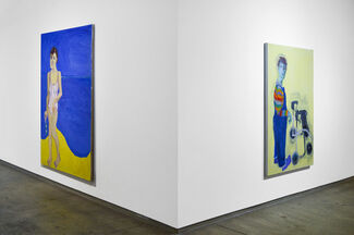 Lucy Jones - How did you get on this canvas?, installation view