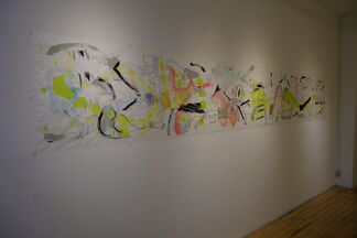 Homage to Frank Stella, On the Wall, installation view