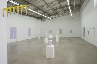 Gary Hume: Lions and Unicorns, installation view