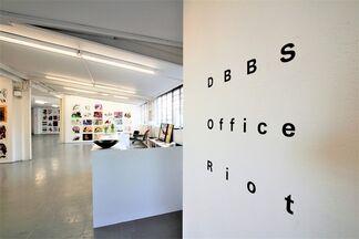 Office Riot (with works by DBBS - Drew Beattie&Ben Shepard), installation view