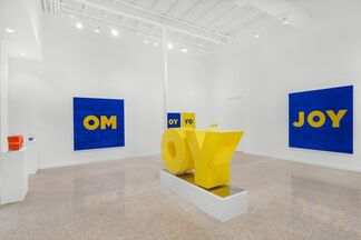 Deborah Kass: S, M, L, installation view