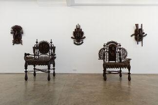 Goncalo Mabunda, installation view
