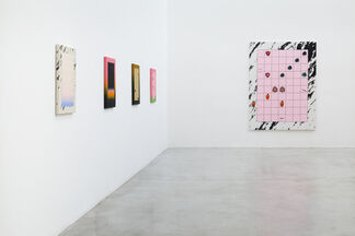 Muito sol na cachoeira (Sun in the waterfall), installation view