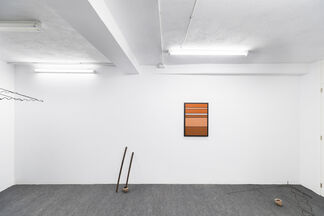 Flujo imperfecto, installation view