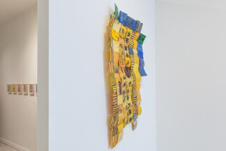 Frédéric Bruly Bouabré & Serge Attukwei Clottey, installation view