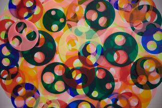 """Soonja HAN """"Moving circles"""", installation view"""
