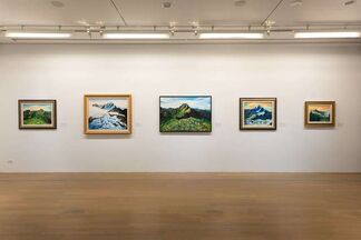 Life, Painting, and Traveling – Commemorative Exhibition of Chen Chyan-Ming, installation view