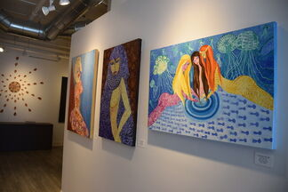 Sensuality to Eroticism, installation view