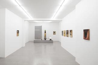 Benedikt Hipp: Bleibsel als Reflex, installation view
