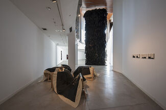 Joël Andrianomearisoa at Centro de Arte Alcobendas, installation view