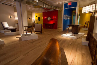 George Nakashima Woodworker 1941-2014 The Process, installation view
