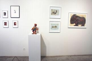 """""""Sur le fil"""", installation view"""