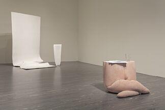 Anne Schneider – Ableger / Lessening Fold, installation view