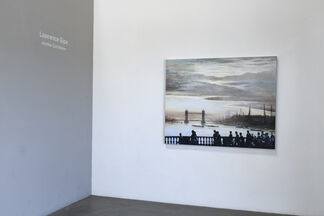 """Lawrence Gipe's """"Another Cold Winter: New Paintings"""", installation view"""