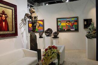 Galerie Simard Bilodeau at Shanghai Art Fair 2014, installation view