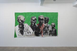 Armand Boua, Clache Moi, installation view