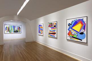 Luis Cruz Azaceta: BETWEEN THE LINES, installation view
