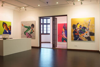 As Free as the Wind - Exhibitions of Luo Dan Oil Paintings, installation view