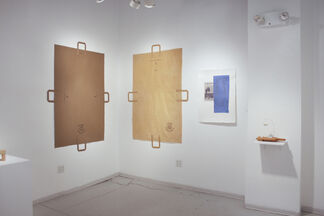 B. Wurtz: Works in Handmade Paper 2013-2015, installation view