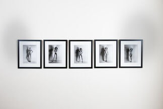 """Nights in White Satin"", Helmut Newton and Carlo Mollino, installation view"