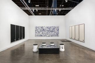 Michael Jon Gallery at Art Basel in Miami Beach 2015, installation view