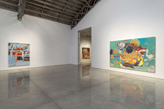 Stefanie Heinze: Food for the Young (Oozing Out), installation view