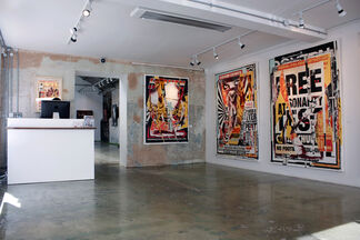 Charlie Anderson: Frequent Moderate Violence, installation view