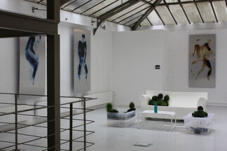 LIVING ROOM, solo show MICHAEL CROS, installation view