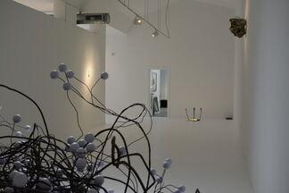 Bailando en Casa del Trompo, installation view