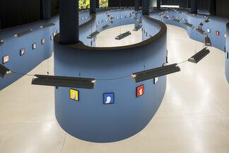 Michael Kvium - Fools, installation view