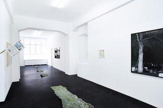 Julius von Bismarck - Unfall am Mittelpunkt Deutschlands, installation view