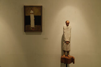 """""""People with Sorrows"""" Gam Seongbin_Solo Exhibition, installation view"""