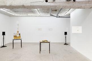"""Windowlicker"", Bogdan Cheta, Susan Cianciolo, Sean MacAlister and Paolo Thorsen-Nagel, installation view"