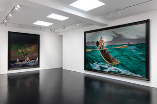 Kehinde Wiley: In Search of the Miraculous, installation view