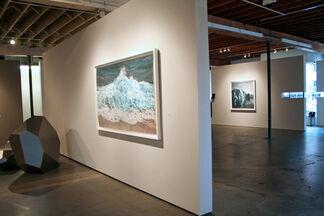 "Zaria Forman ""Ice to Island"", installation view"