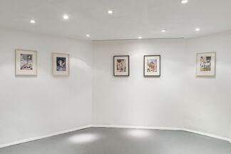 Quote Unquote, Jim Amaral / Diario, Valentino Cortazar, installation view