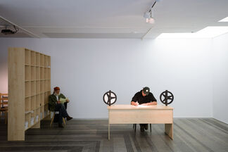 """""""Biography"""" by Open Group in the Context of РАС-UA Re-Consideration, installation view"""