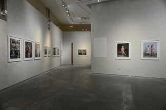 """Rania Matar - """"Becoming: Girls, Women and Coming of Age"""" at East Wing, installation view"""