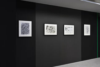 For even words weren't enough, installation view