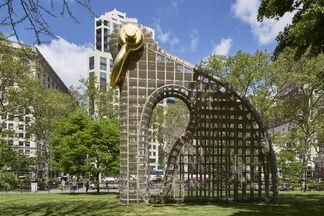 Martin Puryear: Big Bling, installation view