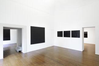 Tomas Rajlich: Black Paintings 1976-79, installation view
