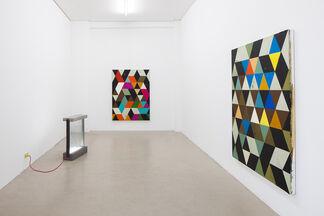 Franziska Holstein, Johannes Makolies, installation view