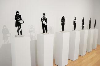 Julian Opie: Recent Works, installation view