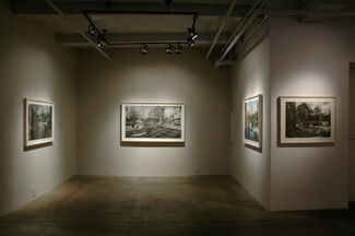 Matthew Daub: Kempton Works on Paper 2009-2011, installation view